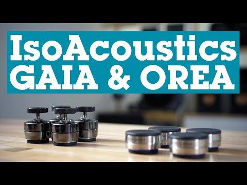 IsoAcoustics GAIA And OREA Vibration Isolation Feet   Crutchfield