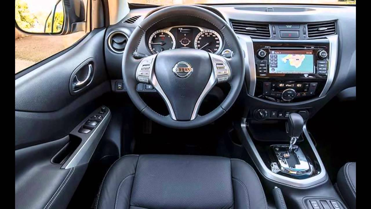 2016 nissan np300 navara interior - youtube
