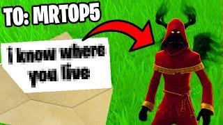 So I found MrTop5's address.. (Fortnite)