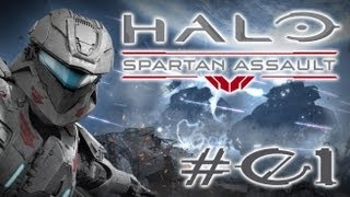 Let's Play: Halo Spartan Assault #01 - Erstmal das Tutorial [German] [HD+]
