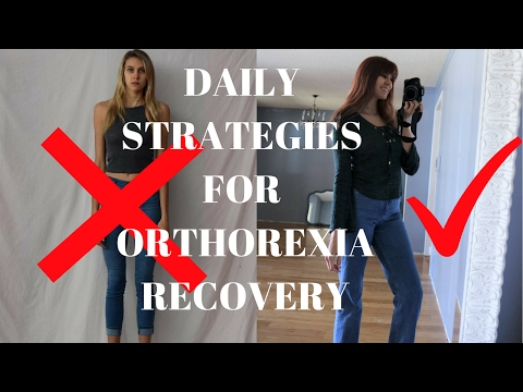 REAL THINGS THAT ARE HELPING ME RECOVER FROM ORTHOREXIA// ED RECOVERY
