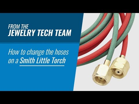 How To Change The Hoses On A Smith Little Torch