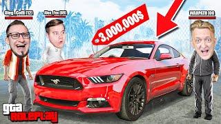 КУПИЛ НОВЫЙ FORD MUSTANG 2019 ГОДА ЗА 3.000.000$! ЭТО НАСТОЯЩИЙ ЗВЕРЬ! (GTA 5 RP)