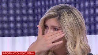 Laurita Fernández no aguantó más y se largó a llorar en vivo