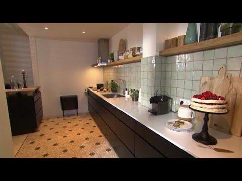 Scandinavische Woonkeuken Eindresultaat Eigen Huis Tuin Youtube