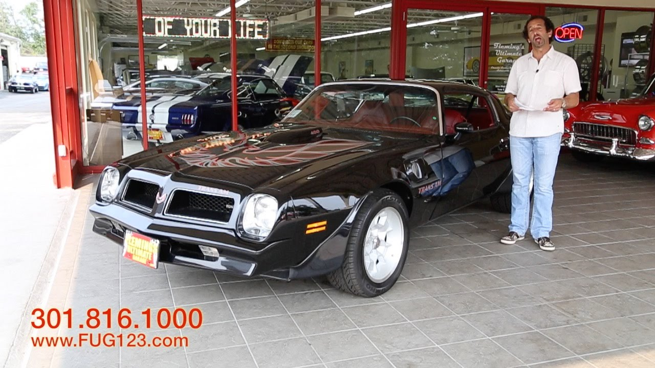 1976 Pontiac Trans AM for sale with test drive, driving sounds, and ...