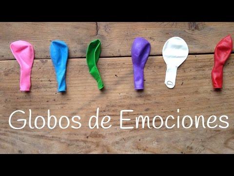 Globos de las emociones, un juego educativo para niños