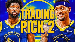 TRADING THE #2 PICK FOR A SUPERSTAR! NBA 2K21 WARRIORS REBUILD!
