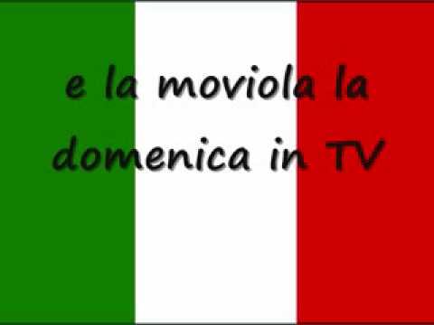 L'italiano lasciatemi cantare