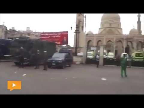 المسجد الأحمدي بطنطا تحت «الحصار»