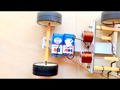 How to Make Solenoid Engine Car! - YouTube