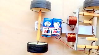 How to Make Solenoid Engine Car!