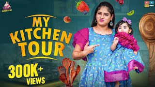My Kitchen Tour  || Itlu Mee Anjalipavan || Tamada Media