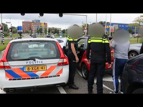 Zo jaagt politie op mobiele bendes