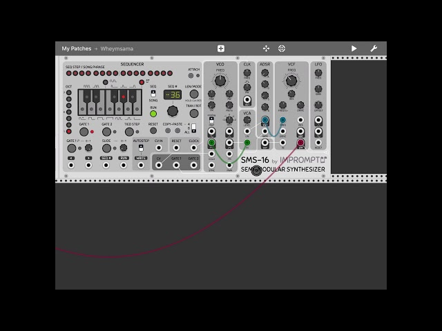 miRack - Tutorial: creating a patch from scratch Part 2