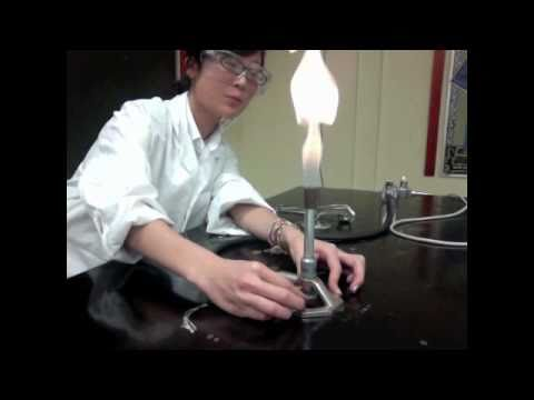 Burning Magnesium Ribbon Pre-Lab - STS: Students Teaching Students Chemistry Lab