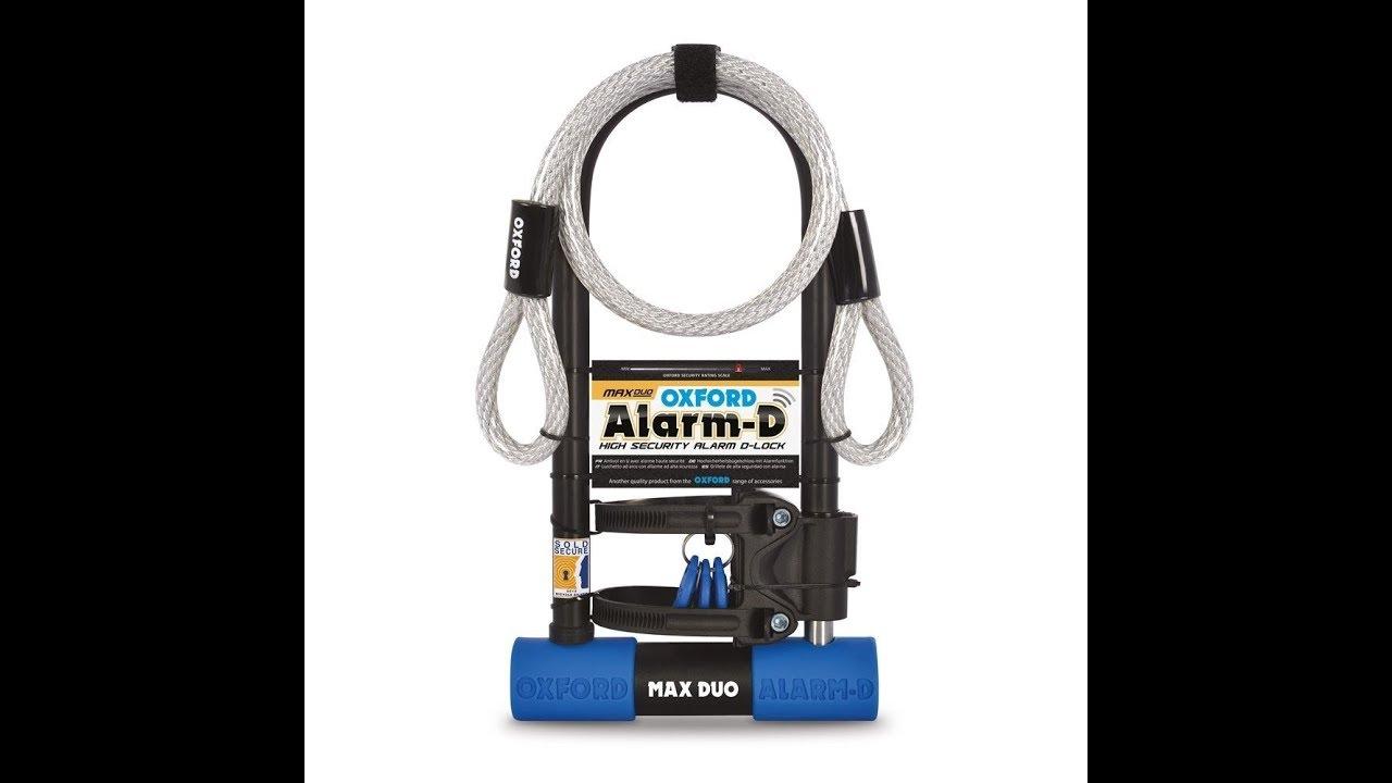 Oxford Max Duo Lock/ Alarm D review