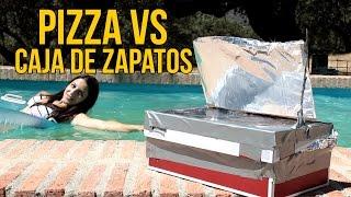 Cómo hacer una pizza en una caja de zapatos (Experimentos Caseros)