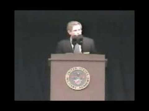 Wolfowitz chilling speech