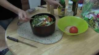 ПоЛеЗнЫй салат с РУККОЛОЙ И ПАРМЕЗАНОМ  РЕЦЕПТ #13  jeniacook