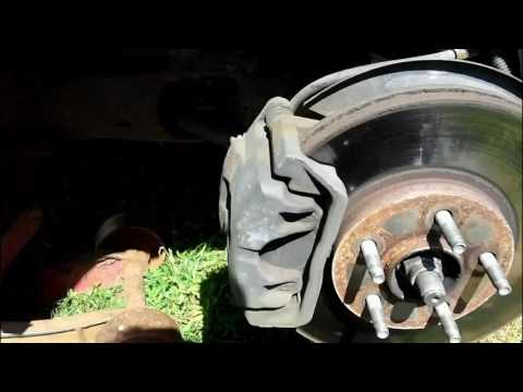 Ford Taurus front sway bar link ends change...PART 1