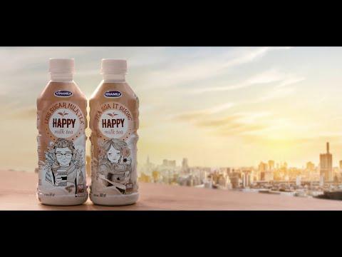Quảng cáo Trà sữa Happy Milk Tea – Ngọt ngào Hương vị tình đầu
