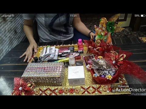 Cosmetic decoration tray, wedding decoration tray by Chhavi Jain's  innovations