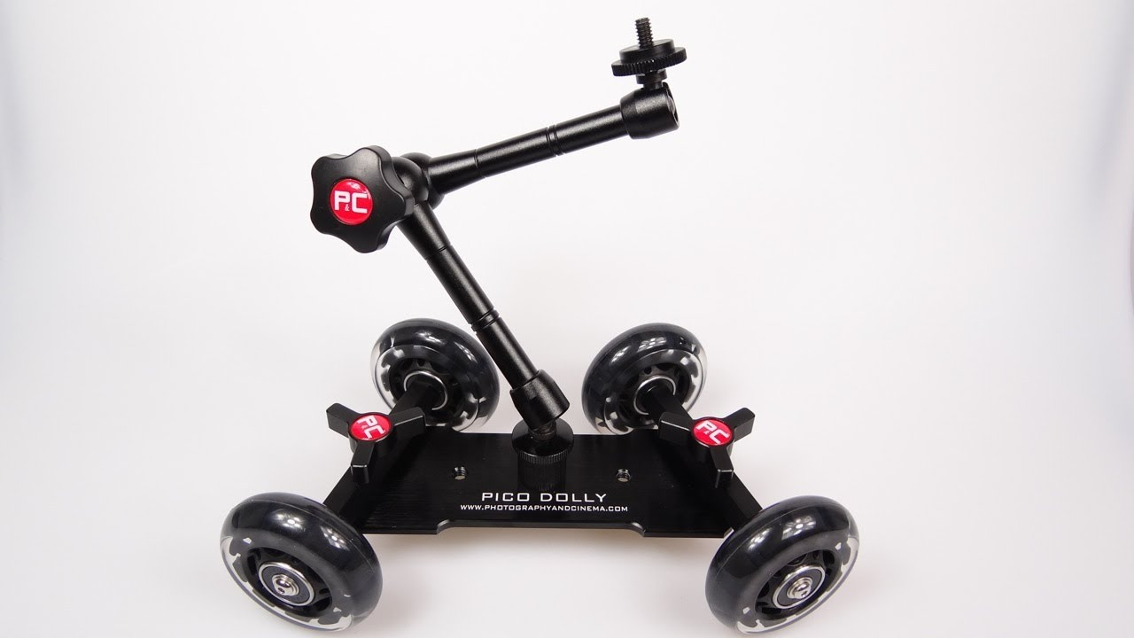 P&C Pico Flex Camera Dolly Review - A look at the Pico Flex Dolly for compact and DSLR cameras.