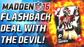 FLASHBACK PACK! A DEAL WITH THE DEVIL! - Madden 16 Ultimate Team