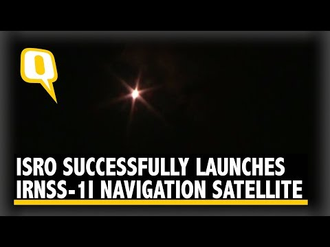 ISRO Launches IRNSS-1I Navigation Satellite, Replaces Faulty IRNSS-1A | The Quint