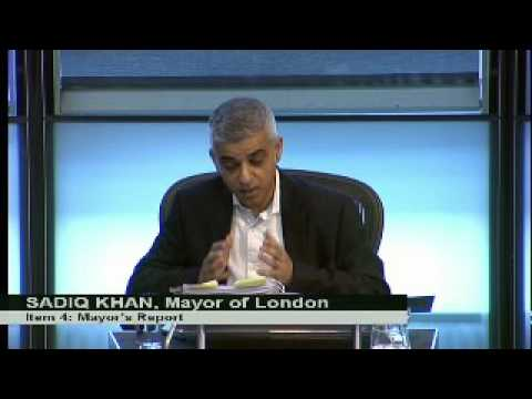 Mayor's Question Time: T-Charge