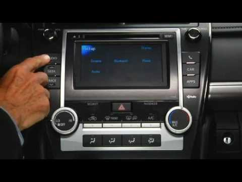 how to operate audio and radio 2012 toyota camry youtube 93 Camry 1989 Toyota Camry MPG