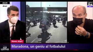 CTP, la moartea lui Maradona: Vreți să plâng pentru un om care a trișat continuu în sport?!