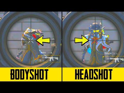 WHAT IS HIT MARK | BODYSHOT / HEADSHOT EXPLAINED | PUBG MOBILE [ HINDI ]