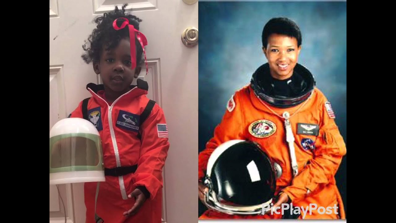 3 year old as Dr. Mae Jemison Black History Speech - YouTube