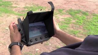 UAV drone radio control in the military