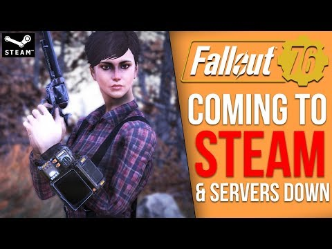 Fallout 76 is Finally Coming to Steam, then the Bethesda Servers Crashed thumbnail