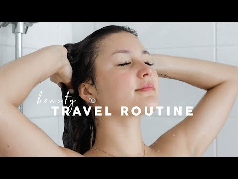My Beauty & Self-Care Travel Routine