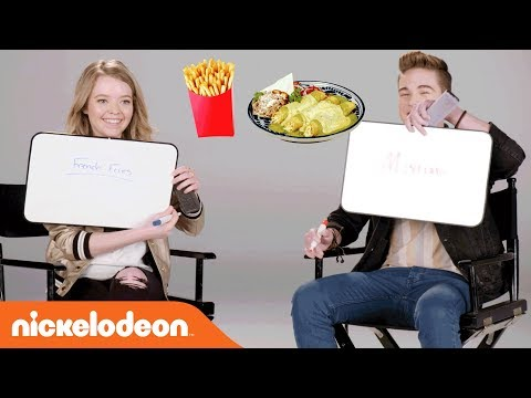 Jade Pettyjohn & Ricardo Hurtado on the Nick Stars BFF Challenge | School of Rock | Nick