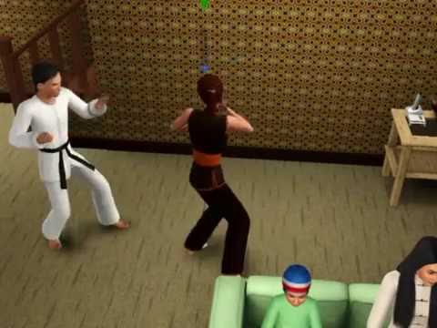 the sims 3 world adventures kung fu fighting youtube
