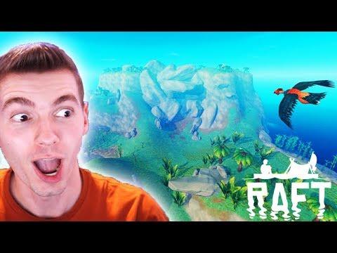 A NOVA ILHA SECRETA muito GIGANTE!!! - Raft