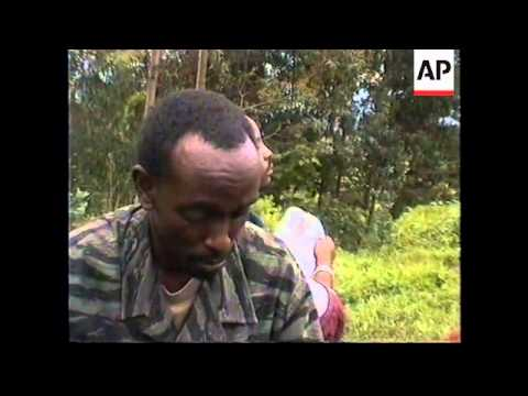 RWANDA: SERIES OF CAVES AT CENTRE OF HUMAN RIGHTS ROW