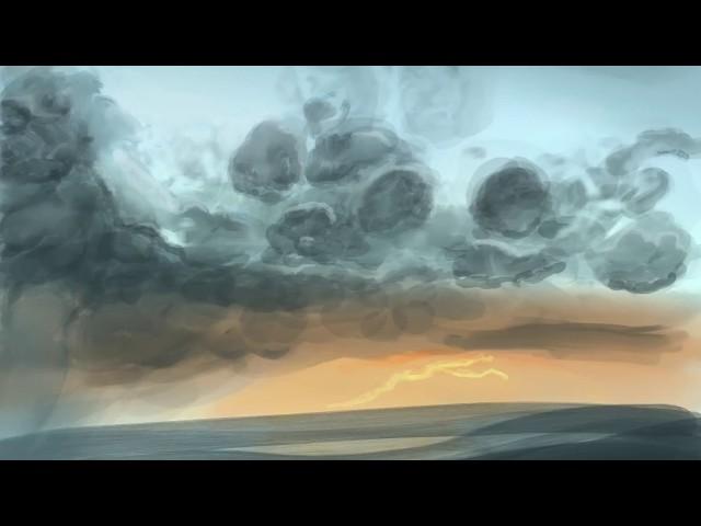 Wolkenband - Speeddraw