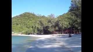 видео Haad Khuad Resort, Панган. Лучший отель на пляже Bottle beach