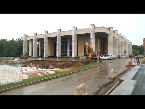К началу сентября завершится первый этап реконструкции Центрального парка
