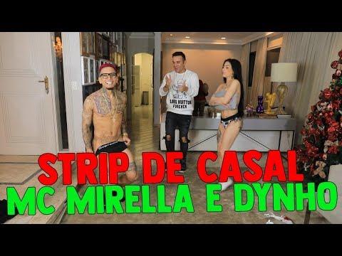 STRIP DE CASAL COM MC MIRELLA E DYNHO ALVES | #HottelMazzafera