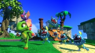 Yooka-Laylee Is Bright, Fun, and the Right Amount of Raunchy - PSX 2016