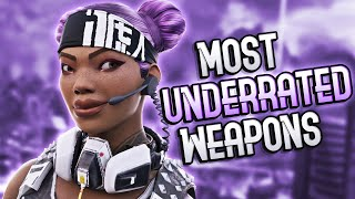 Top 5 Most Underrated Weapons In Apex Legends! (Tier List)