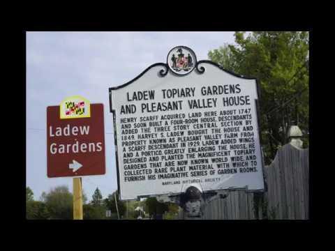Ladew Topiary Gardens Monkton Maryland Upclose Detailed