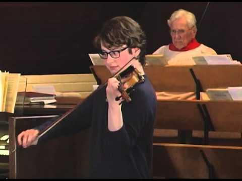 Violin Recital at St. Georges Church by Benjamin Brashear 3-29-2015   ParkTV15